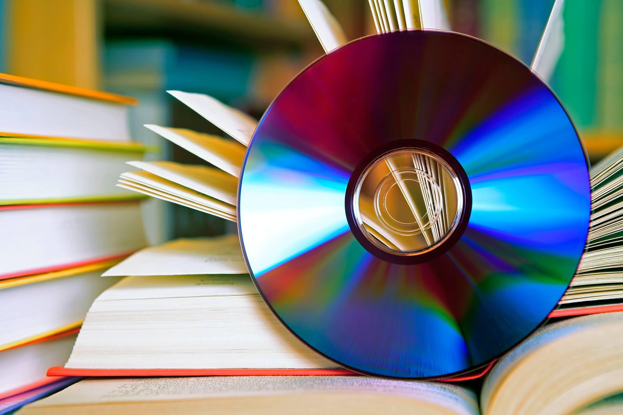 Buecher mit CompactDisk